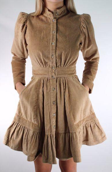 Bilde av TiMo Corduroy Mini Dress