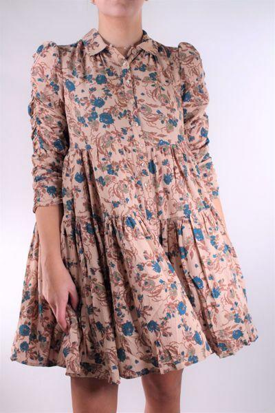 Bilde av TiMo Bubble Viscose Button Down Dress